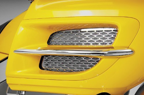 Show Chrome Goldwing GL1800 Radiator Accent Grilles - (Show Chrome Accent Radiator)