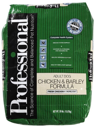 Professional Dry Food for Adult Dogs, Chicken and Barley Formula, 35 Pound Bag, My Pet Supplies