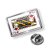 Pin Jack of Diamonds - Jack / card game - Lapel Badge - NEONBLOND