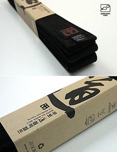 Mooto Do Black Belt Fashion Washed Black Belt Martial Arts TaeKwonDo Hapkido Kendo Karate Judo Length 94.5-133.8
