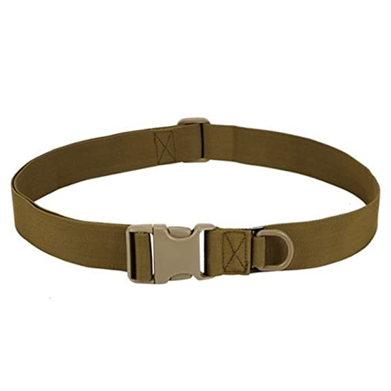 Men Military Belt Buckle Combat Waistband Tactical Rescue Rigger Tool Adjustable