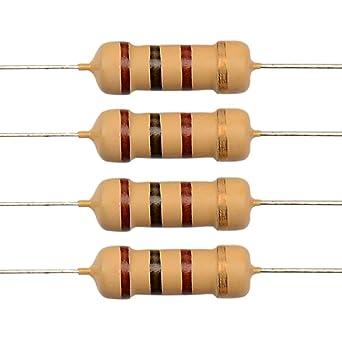 62 ohm 1//4 watt 5/% Carbon Film Resistors 100pcs