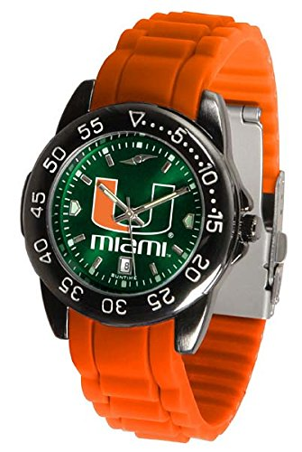 Miami Hurricanes Fantom Sport Silicone Men's (Miami Sport Watch)
