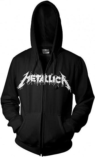 NEW /& OFFICIAL! Metallica /'One/' Zip Up Hoodie