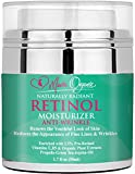 Face Moisturizer Paraben Free - Anti Aging Retinol Cream, Natural Anti Wrinkle Night and Day Moisturizer for Face, Neck and Eyes, with Hyaluronic Acid, Reduces Wrinkles Fine Lines and Acne, Organic Skin Care for Men and Women 1.7 OZ