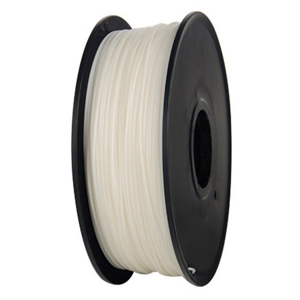 axGear 3D Printer PLA Filament 1.75mm 1KG 2.2LB Premium Wire Material Spool Roll White PLA-W