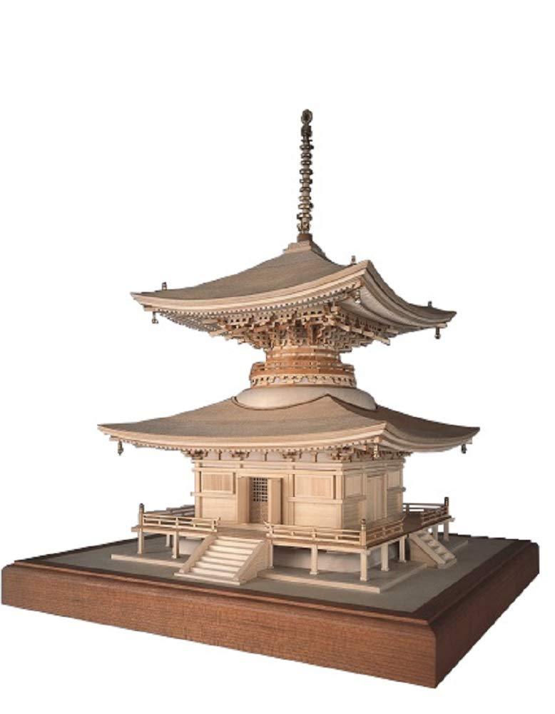 ウッディジョー 1/50 石山寺 石山寺 多宝塔 木製模型 組立キット 組立キット 木製模型 B0009U5830, 天天ストア:d70499e4 --- ijpba.info