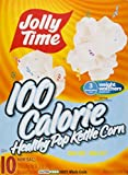 microwave popcorn jolly time - Jolly Time 100 Calorie Healthy Pop Kettle Corn, 10 count, 12 oz