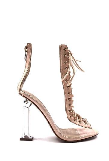1bc40b90a CHIC NANA . Chaussure Femme Mode Bottine à Talon Transparent, à ...