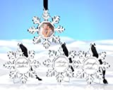 Snowflake Place Card Holder/Ornament (Set of 4) - 24 Sets in Total