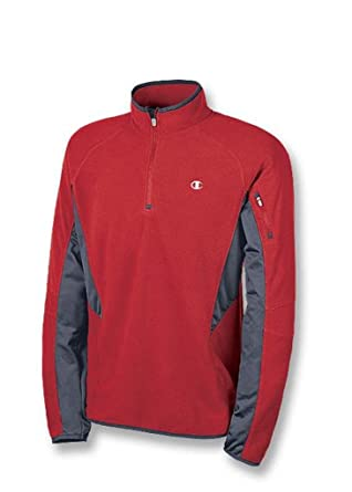 8c92be7f3611f Champion Double Dry Micro-Tech Fleece Quarter-Zip Men s Jacket