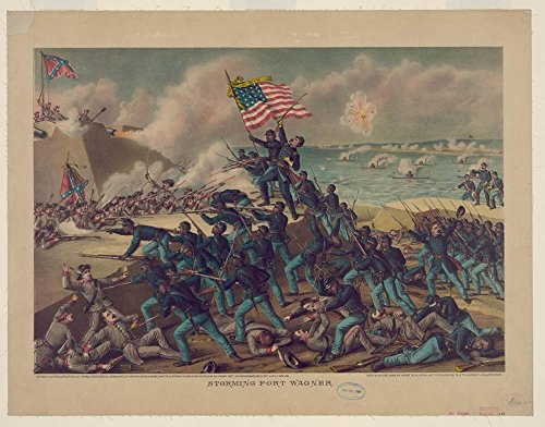 Storming Fort Wagner by Historic Photos