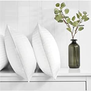 Regal In House - 3- Piece Comfortable Strip Hotel Pillow Microfiber White - 90x50