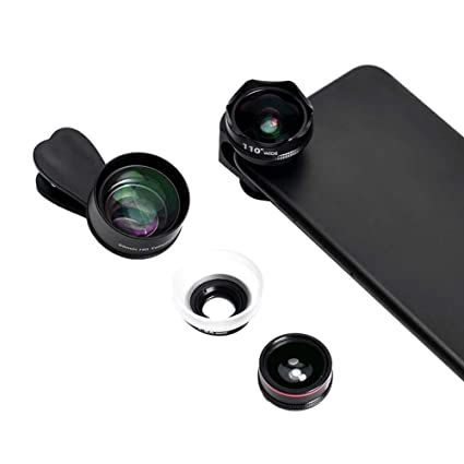 new concept 7b96b 37b53 Amazon.com: Lens, Clip-On Professional HD Camera Lens Kits for ...