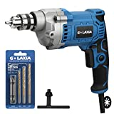 Best Corded Drills - GLAXIA Professional 6A 3/8-Inch Corded Drill, Variable Speed Review