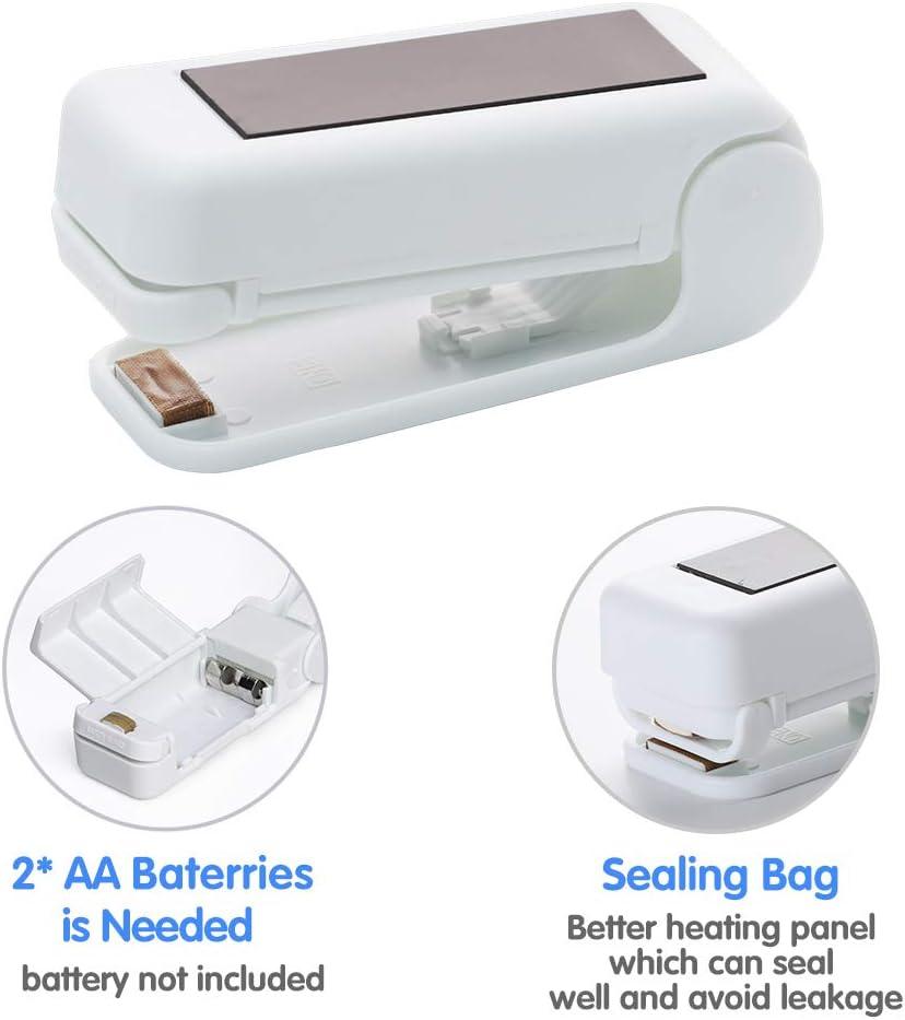mini Bag Sealer dispositivo de soldadura de mano cierre 2 en 1 mini soldador de bolsas Dispositivo de soldadura de l/áminas