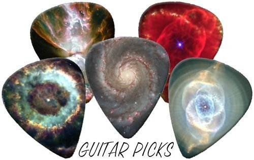 Space Universe Solar System Black Holes Full Colour Premium Guitar Picks x 5 Medium 0.71 Printed Guitar Picks