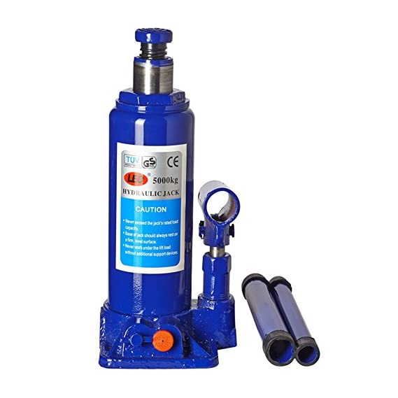 Kozdiko 5 Ton Car Hydraulic Jack Universal for All Cars (Color May Vary)