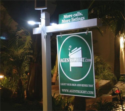 Solar Real Estate Sign Light (Real Estate Led)