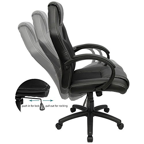 Furmax Office Chair Pu Leather Gaming Chair High Back