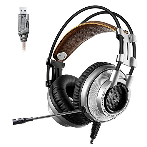 XIBERIA Surround Headphones Over ear Microphone product image