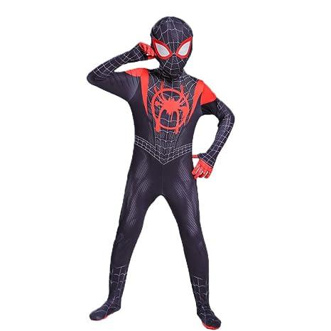 KOUYNHK Niños Adultos Traje De Cosplay De Spiderman En El ...