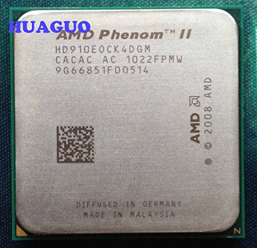AMD Phenom II X4 910e 2.6 GHz Quad-Core Desktop CPU Processor HD910EOCK4DGM Socket AM3