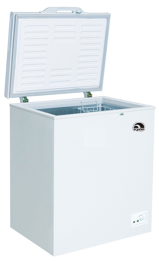 RCA 5.1 Cubic Foot Chest Freezer by RCA-IGLOO