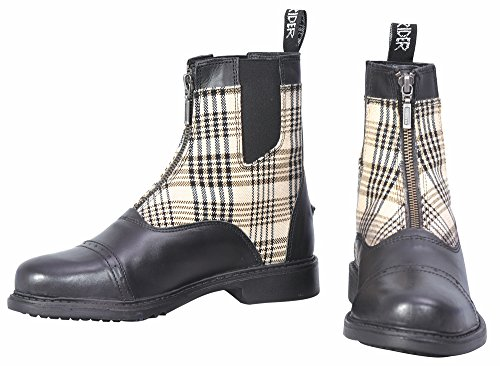 Paddock Zip Baker Black Boots Ladies RBqAF