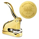 Luxury Gold Embosser - Tucker Last Name Desk Embosser