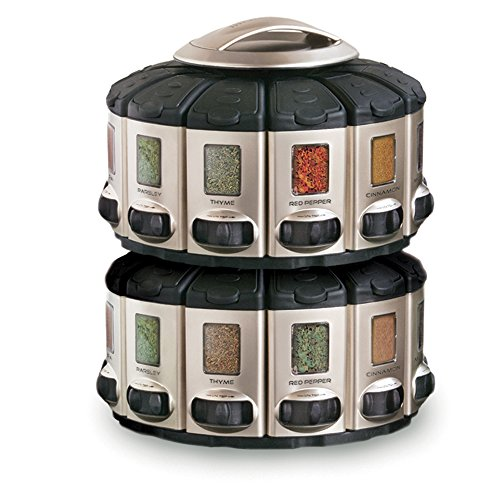 Kitchen art professional select a spice auto measure for Carousel spice racks for kitchen cabinets