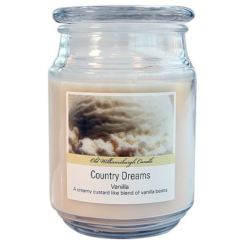 Nicole Home Collection Old Williamsburgh Candle, Vanilla, 18