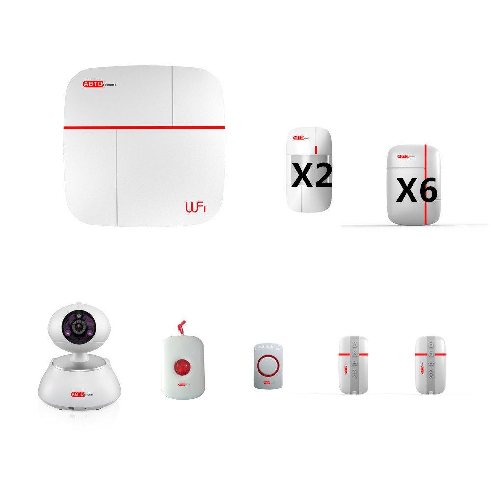 SZABTO Vcare G Blanco APP controlado GSM G WIFI Sistema de alarma