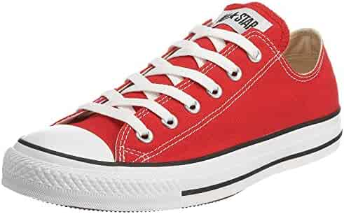 2671fce3c4f8 Converse Unisex Chuck Taylor All Star Ox Low Top Classic Red Sneakers - 11 D (