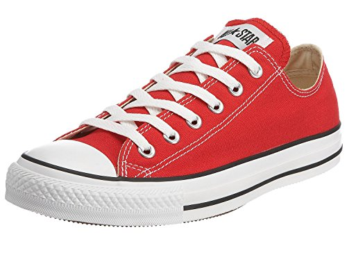 Converse All Star Ox Fashion tela, rosso (Red), 46,5 EU Uomini 47 EU Donne