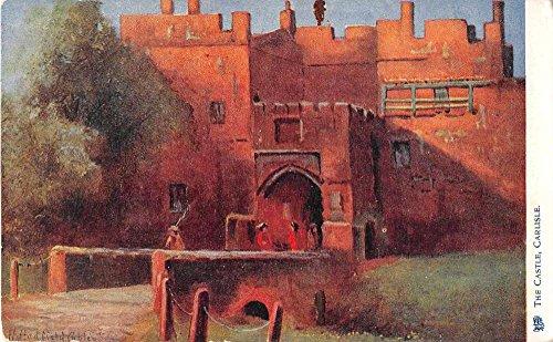 lisle Castle Antique Postcard J53510 (Carlisle Castle)