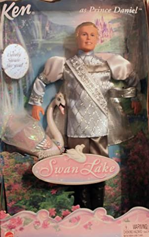 Barbie of Swan Lake KEN as Prince Daniel + Lovely Swan for you!