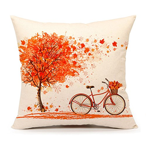 Sambosk Fall Throw Pillow Case Cushion Cover Home Decor 18