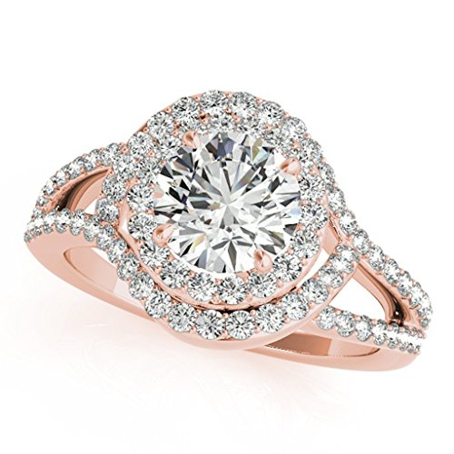 Carat shaped Interwined Engagement Diamond product image