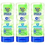 Banana Boat Protect & Hydrate Sunscreen Lotion - 2 in 1 UVA/UVB Sunscreen & All Day Moisturizer - SPF 30 - Net Wt. 6 FL OZ (177 mL) - Pack of 3 offers