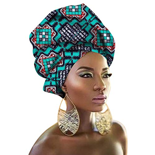 (Chien TJ02 Traditional African Headwrap Headtie Nigerian Polyester Fiber Scarf Headwear Lots Colors Available (TJ 0222))