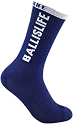 Ballislife Navy/White Elite Socks (1 Pair)