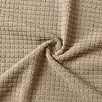 VOSAREA 2pcs Stretch Fabric Armrest Covers Decorative Universal Elastic Sofa Arm Covers Protectors