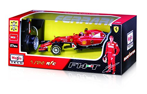 Maisto R/C 1:24 2014 Ferrari F14T Radio Control Vehicle (Styles May Vary)