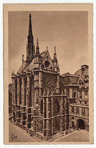 Sainte Chapelle, Our Beautiful Paris, France Vintage Original Postcard #2633 - 1930's