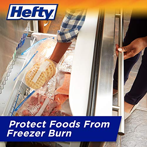 Hefty Slider Storage Bags, Gallon Size, 56 Count
