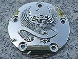 i5 Chrome Eagle Points Cover for Harley Davidson