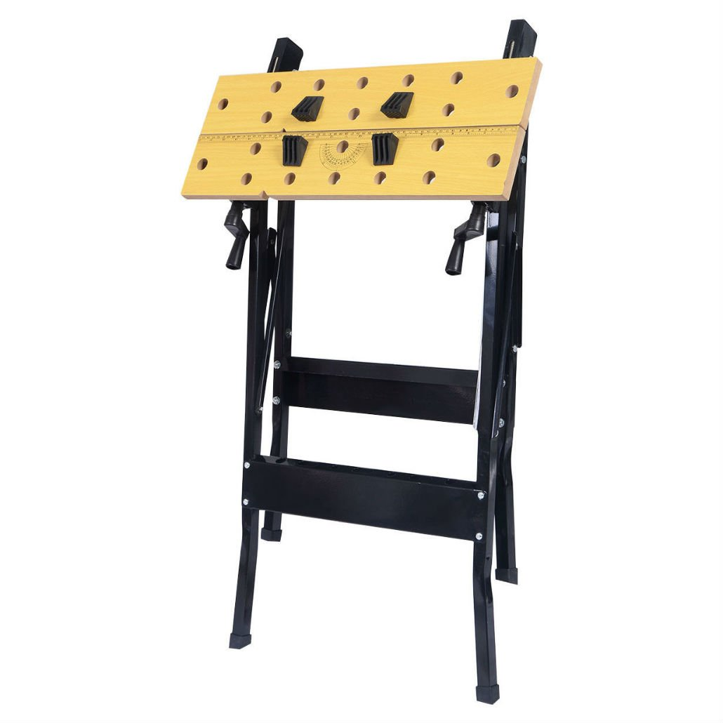 Folding Work Bench Table Tool Garage Repair Workshop by Unknown (Image #4)