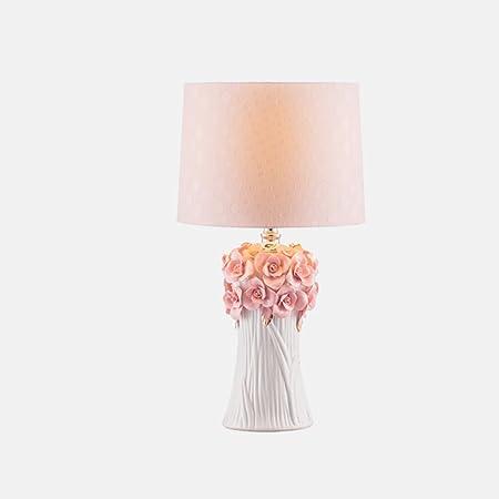 Chengxin - Lámpara de Escritorio de Estilo Coreano de Color Rosa ...