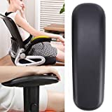 Cosway 2PCS Replacement Office Chair Armrest Arm Pads Ergonomic PU Cushion Rest Cover [US STOCK]